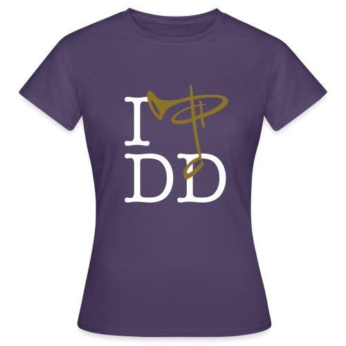 I love DD - Frauen T-Shirt