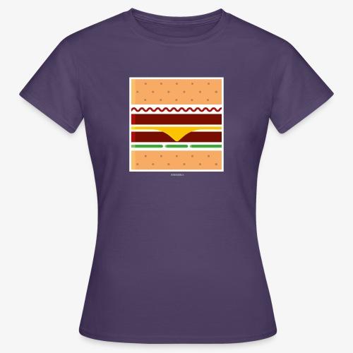 Square Burger - Maglietta da donna