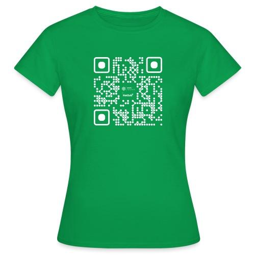 QR - Maidsafe.net White - Women's T-Shirt