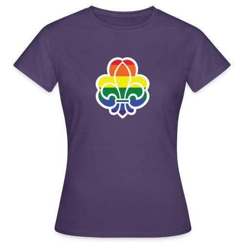 Regnbuespejder jakker og t-shirts mv - Dame-T-shirt