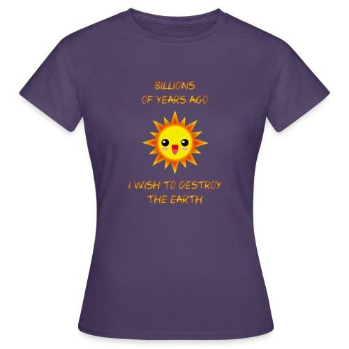 SOL KAWAII sin brillo exterior X - Camiseta mujer