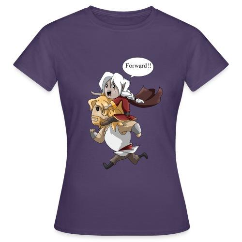 Soif d'Aventures. - T-shirt Femme