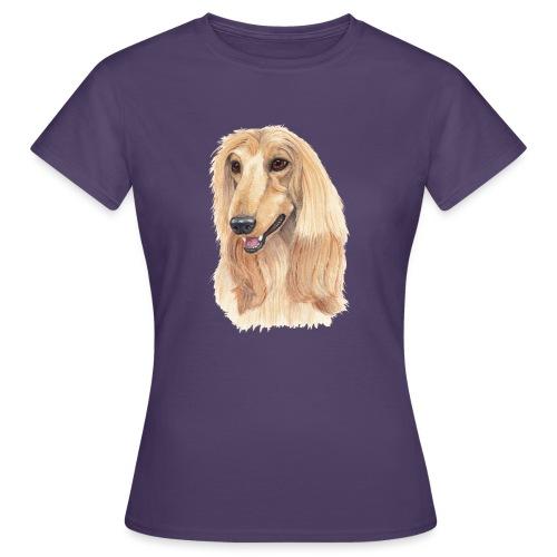 afghanskMynde- A - Dame-T-shirt