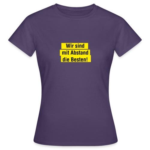 Abstand 02 - Frauen T-Shirt