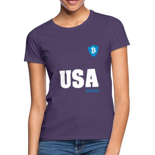 USA Bitcoin - Camiseta mujer