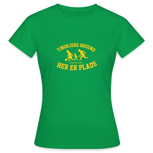 Tingbjerg Ground - her er plads - Dame-T-shirt
