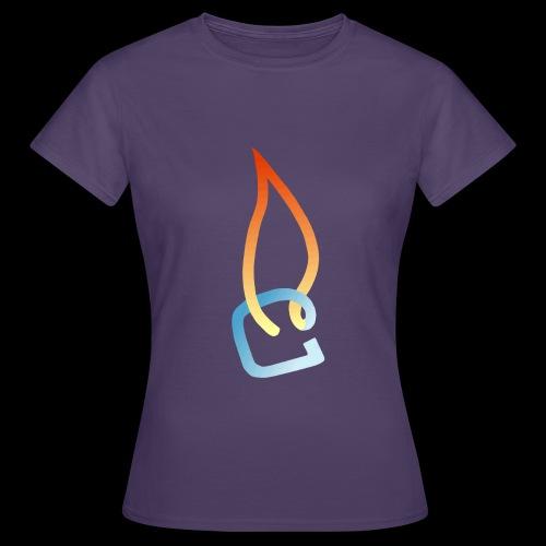 Eisheiss Bandlogo - Frauen T-Shirt