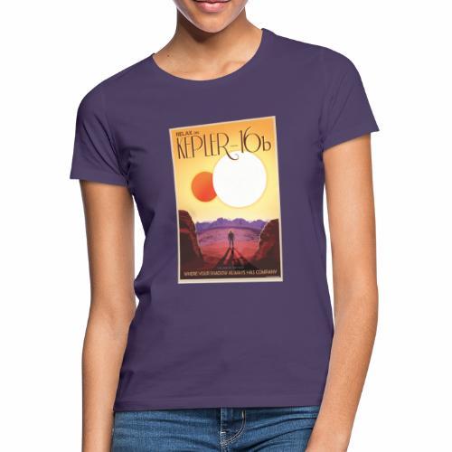 Kepler, planète aux deux soleils - T-shirt Femme