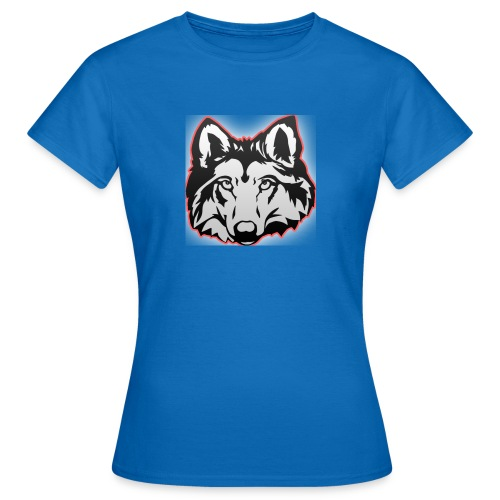 Wolfie (Red) - Women's T-Shirt