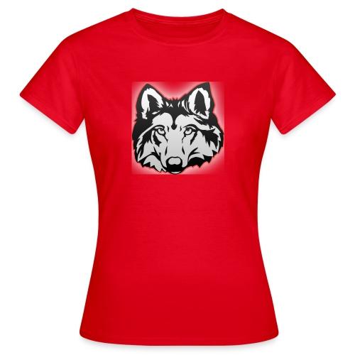 Wolfie (Red) - Women's T-Shirt