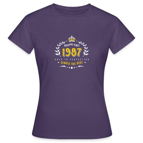 original since 1987 simply the best 30th birthday - Women's T-Shirt