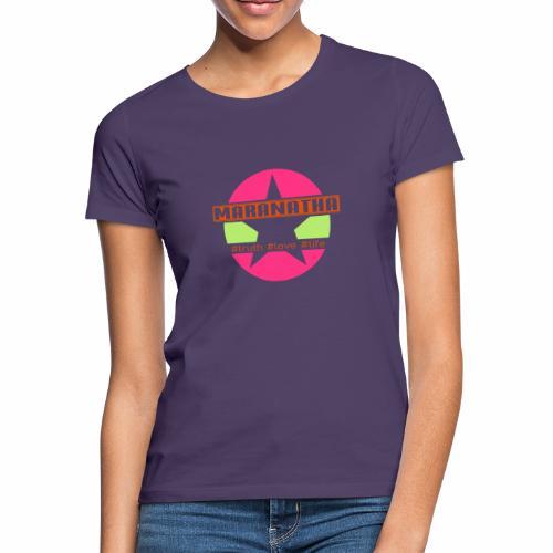 maranatha rosa-grün - Frauen T-Shirt