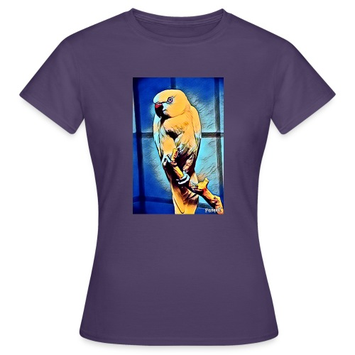 Bird in color - Naisten t-paita
