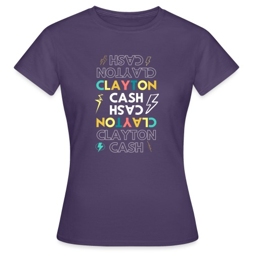 CASH UPSIDE DOWN - Vrouwen T-shirt