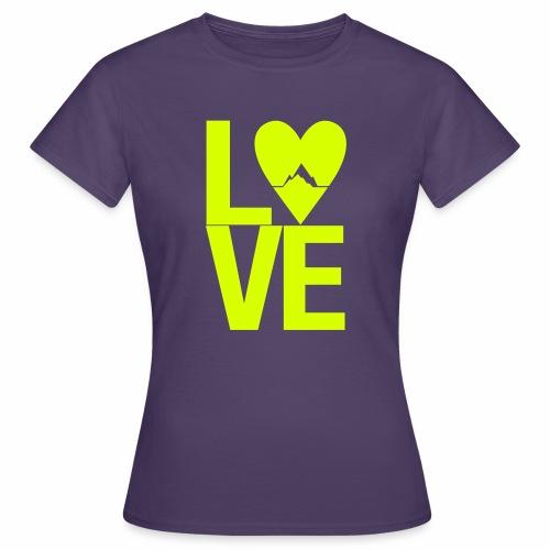 Mountain Love - Frauen T-Shirt