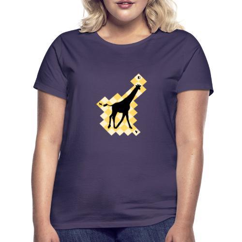 GiraffeSquare - Naisten t-paita