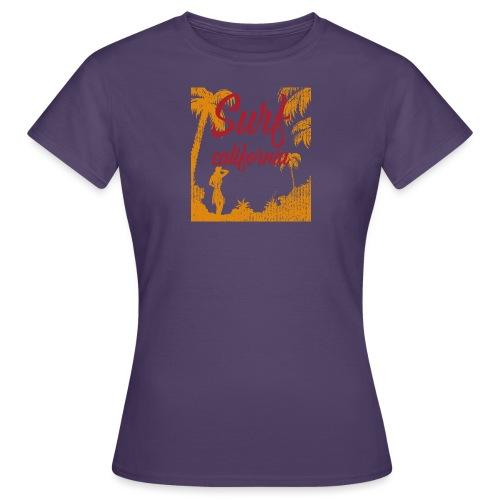 SURF CALIFORNIA - Maglietta da donna