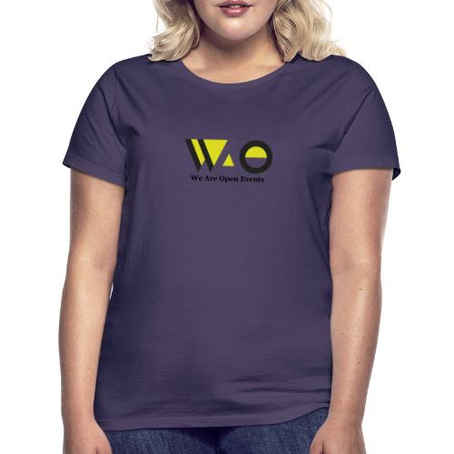 WAO y Letras color - Camiseta mujer