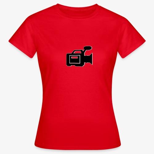 camera - Dame-T-shirt