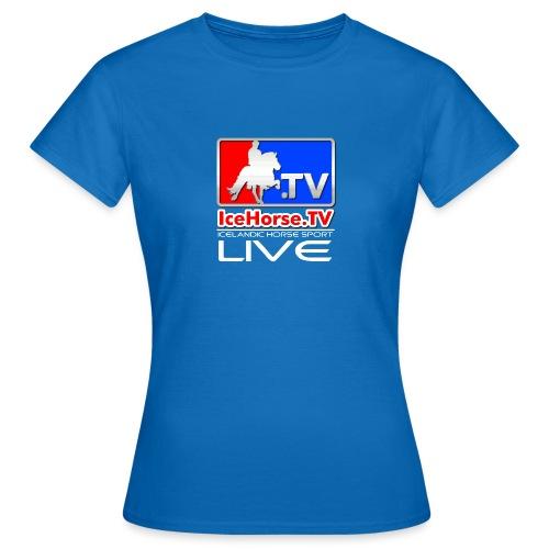 IceHorse logo - Women's T-Shirt