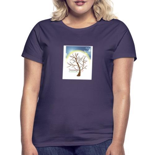 Baum mit Licht - Frauen T-Shirt