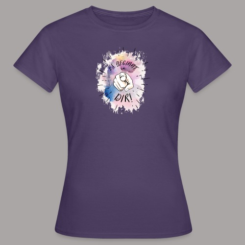 shirt bunt tshirt druck - Frauen T-Shirt