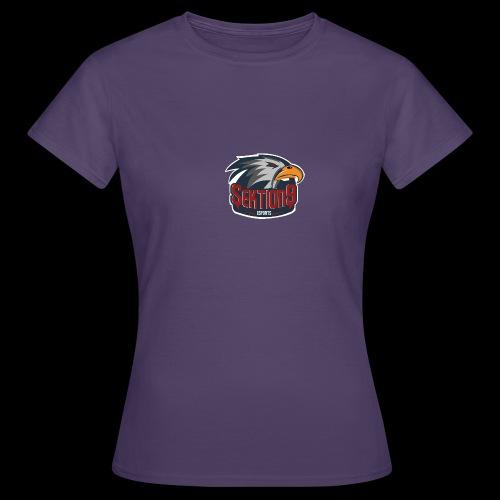 Sektion9 logo Grau - Frauen T-Shirt