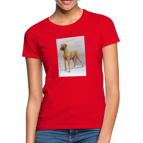 Great Dane Yellow - Dame-T-shirt