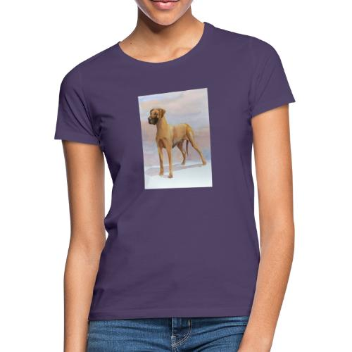 Great Dane Yellow - Dame-T-shirt