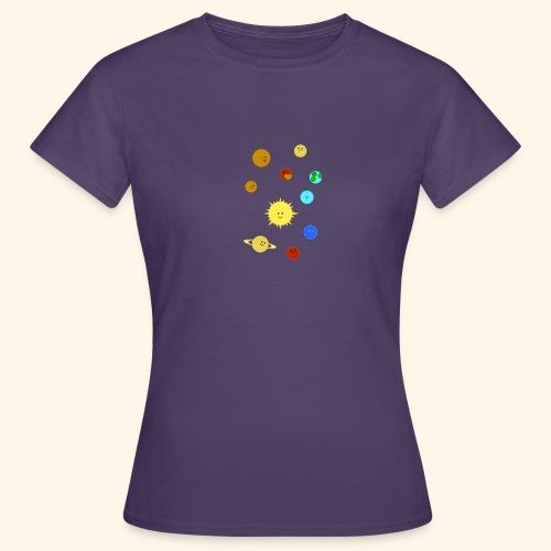 Solsystemet - T-shirt dam