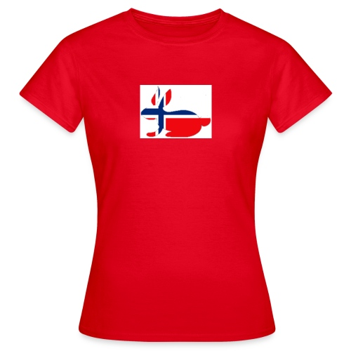 bunny_NY_LOGO_LI - Women's T-Shirt