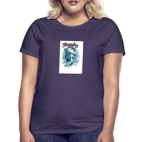 squelette - T-shirt Femme