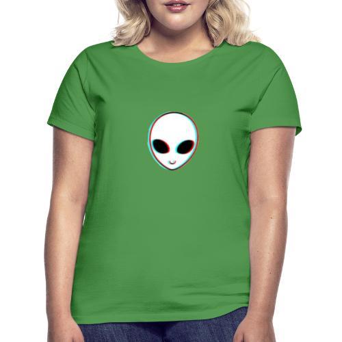 alien tumblr - Camiseta mujer