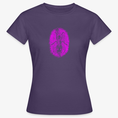 Fluga Purple - T-shirt dam