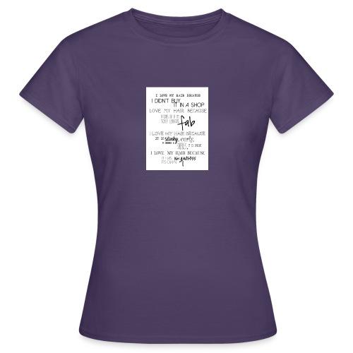 I LOVE MY HAIR - Women's T-Shirt