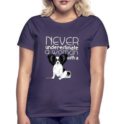 papiunderestimate3 - Naisten t-paita