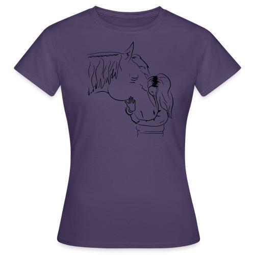 Aus Liebe zum blindem Pferd - Frauen T-Shirt