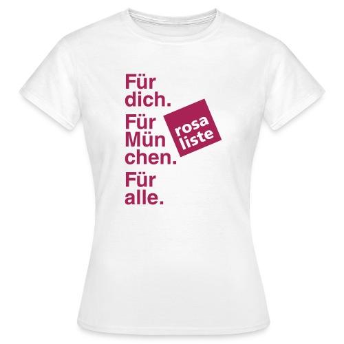 2014_04_19_Shirt_vorne - Frauen T-Shirt