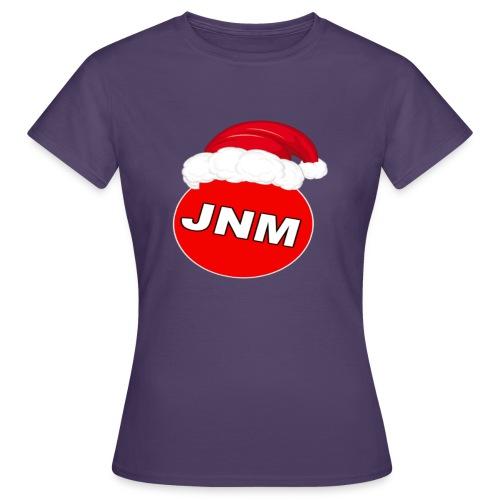 JustNotMe kerst merch - Vrouwen T-shirt