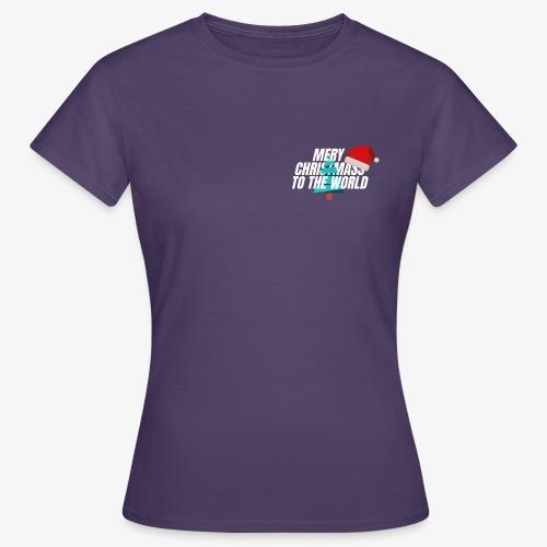 MERY CHRISTMASS - T-shirt Femme
