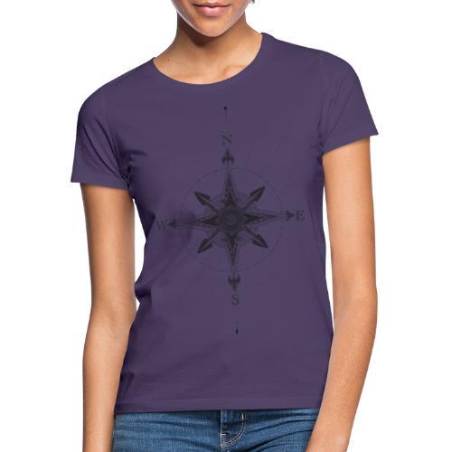 Geometrische Kompass - Frauen T-Shirt