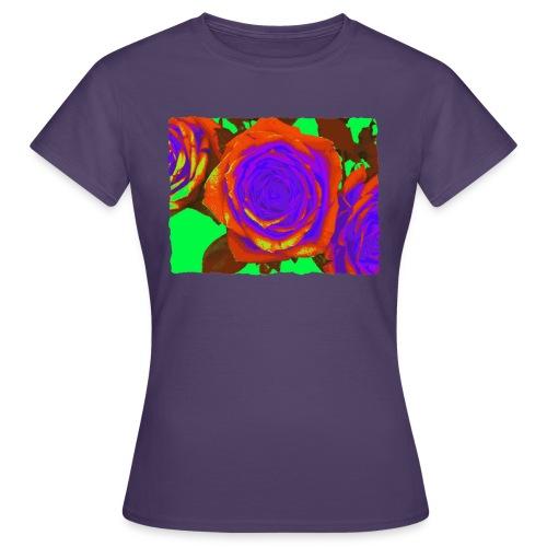 rose orange purple - Vrouwen T-shirt