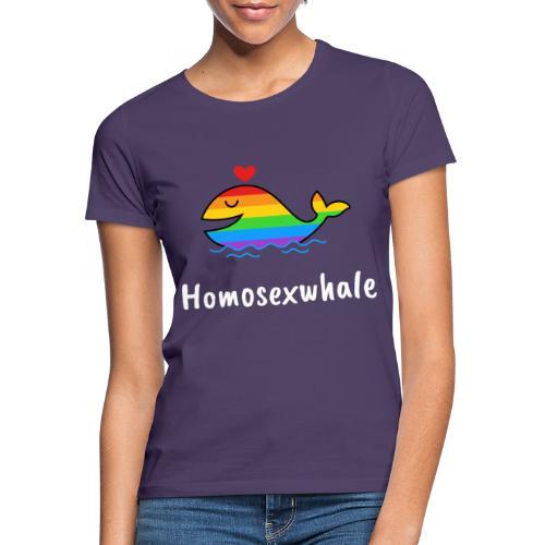 Ballenita Orgullo Gay | LGTBI Arco Iris - Camiseta mujer