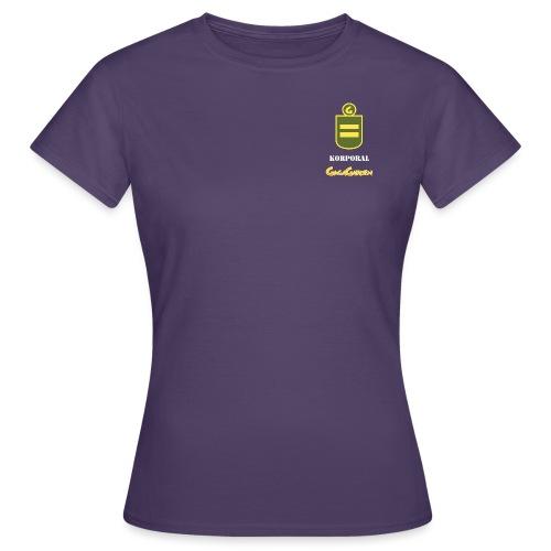 GagaGarden korporal - T-skjorte for kvinner