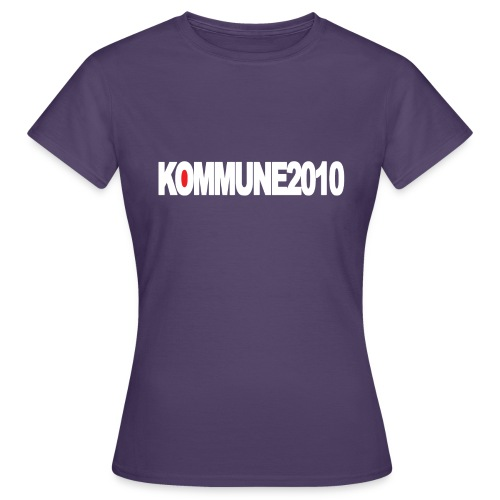 Kommune2010 Merch - Frauen T-Shirt