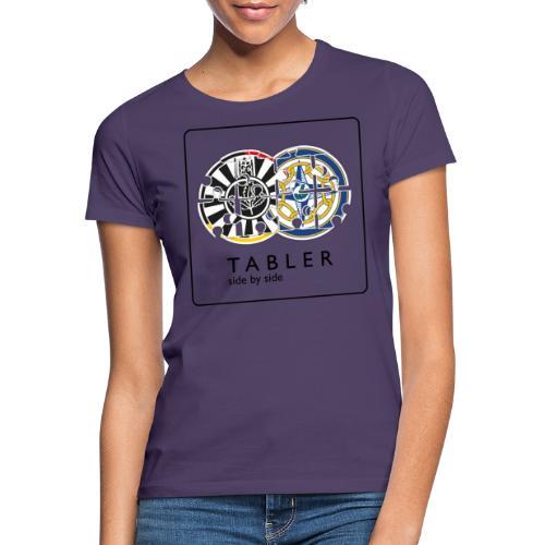 TABLER side by side - logo hell - Frauen T-Shirt