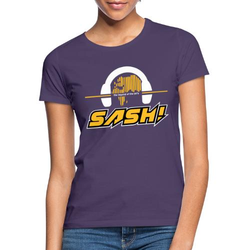SASH! Logo 2020 Headfone - Women's T-Shirt