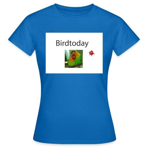 Birdtoday en Knuckels - Vrouwen T-shirt