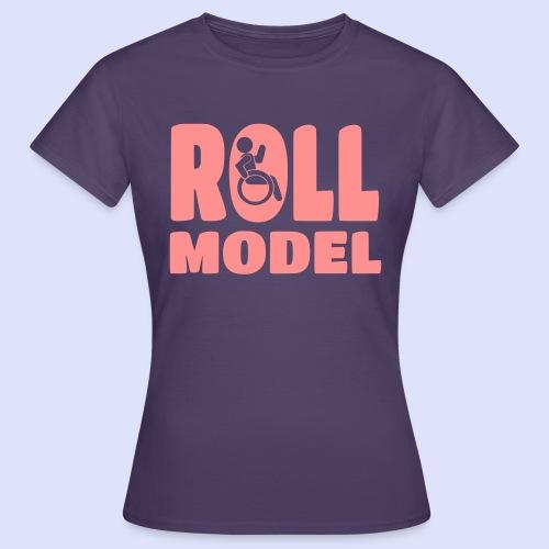 Wheelchair Roll model 016 - Women's T-Shirt