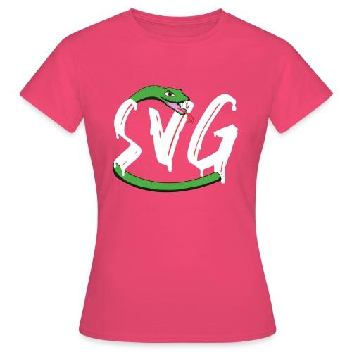 Savage Snake White - Vrouwen T-shirt
